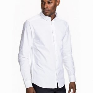 Tailored By Solid London Shirt Kauluspaita White