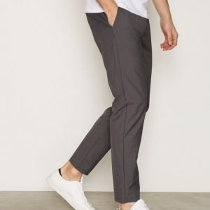 Tailored By Solid Pants Drow Housut Dark Grey