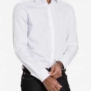 Tailored By Solid Rudge Shirt Kauluspaita White