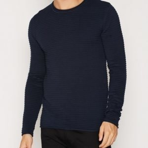 Tailored By Solid Shefford Knit Pusero Insignia Blue