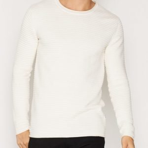 Tailored By Solid Shefford Knit Pusero Whisper White