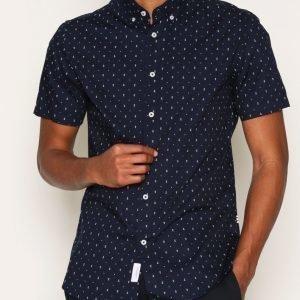 Tailored By Solid Shirt Delny Kauluspaita Insignia Blue