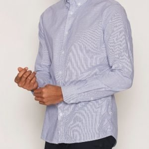 Tailored By Solid Shirt Drayton Kauluspaita Blue