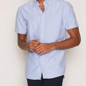 Tailored By Solid Shirt London Kauluspaita Sky Blue