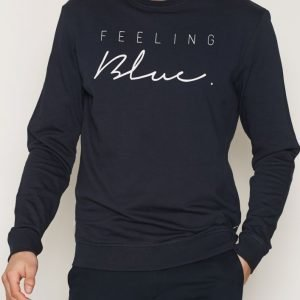 Tailored By Solid Sweat Dilion Pusero Insignia Blue