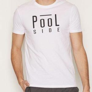 Tailored By Solid T-Shirt Deerhu T-paita White