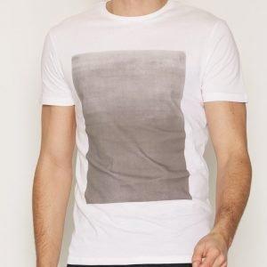 Tailored By Solid T-Shirt Dockray T-paita Valkoinen