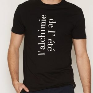 Tailored By Solid T-Shirt Dundrum T-paita Black