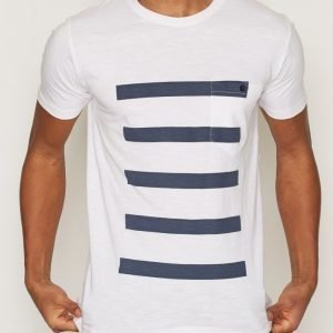 Tailored By Solid T-Shirt Harlow T-paita Valkoinen