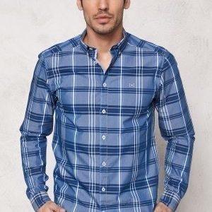 Tailored & Original Fullham Check Shirt 1741 Dark Blue