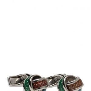 Tateossian Tateossian Multicolour Knot Cufflinks kalvosinnapit