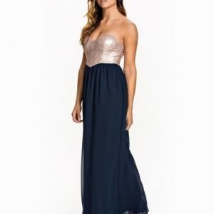 Te Amo Sequin Bandeau Maxi Dress