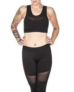 Tech Mesh Top Black