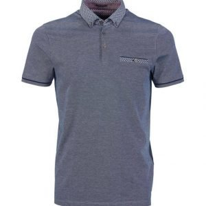 Ted Baker London Geo Print Cotton Polo Paita