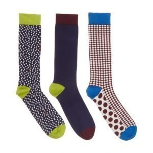 Ted Baker London Samesock Sukat 3-Pack