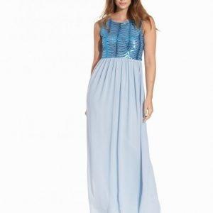 Tfnc Brenna Maxi Dress Maksimekko Sky Blue