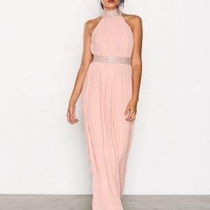 Tfnc Kenzie Maxi Dress Maksimekko Pearl Pink