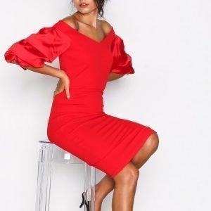 Tfnc Nisha Dress Kotelomekko Red