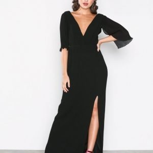 Tfnc Oboe Maxi Dress Maksimekko Black