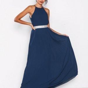Tfnc Serene Maxi Dress Maksimekko Navy