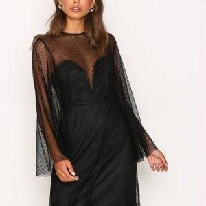 Tfnc Starry Dress Kotelomekko Black