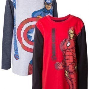 The Avengers Pusero 2 kpl Red/Grey