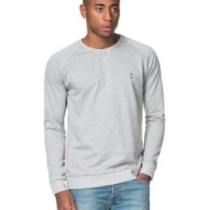 The Blue Uniform Embo Sweat Grey