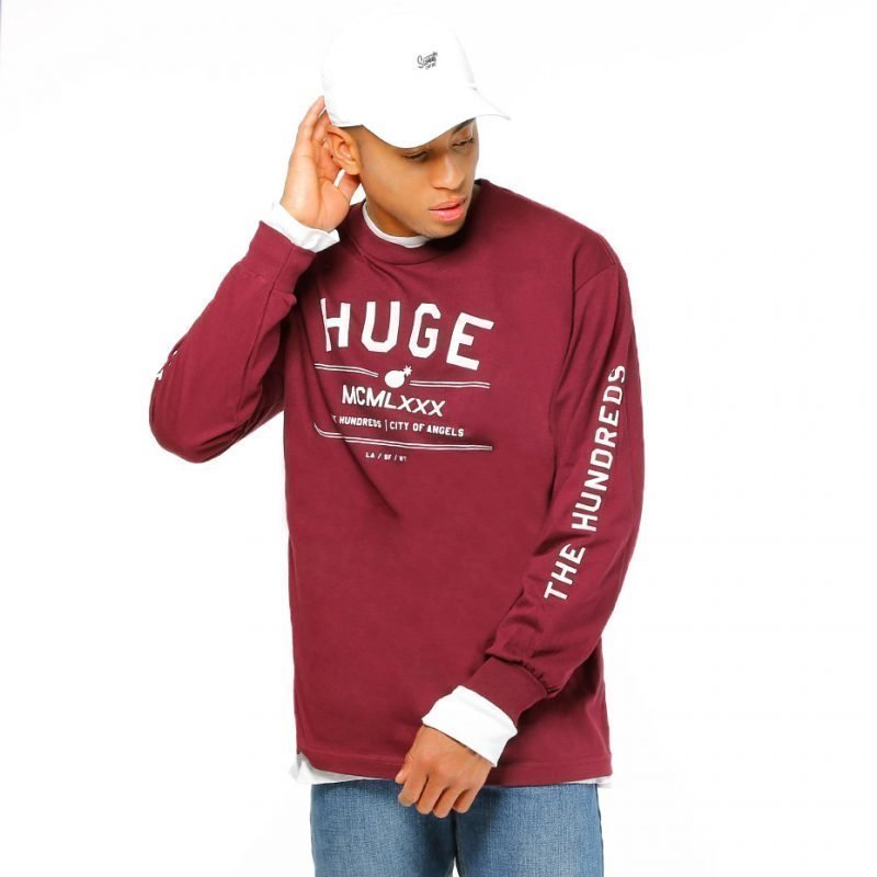 The Hundreds Huge -longsleeve