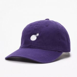 The Hundreds Solid Bomb Washed Strapback