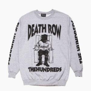 The Hundreds x Death Row Crewneck