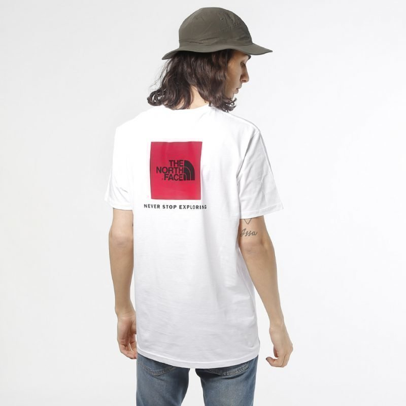 The North Face Red Box -t-paita