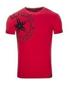The Star Plaque Tee VO2 Red