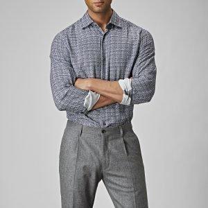 The Tailoring Club Drake Pepita Kauluspaita
