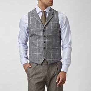 The Tailoring Club Stafford Liivi Harmaa