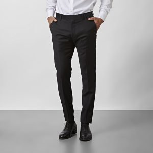 The Tailoring Club Vertigo Wool Puvunhousut Musta