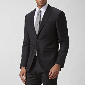 The Tailoring Club Vertigo Wool Puvuntakki Musta