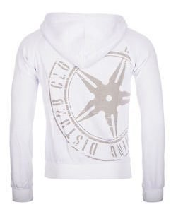 The Throwing Star Hoodie White