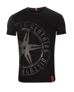 The Throwing Star Tee Black/Black