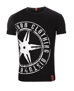 The Throwing Star Tee Black/White