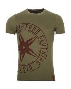The Throwing Star Tee Green