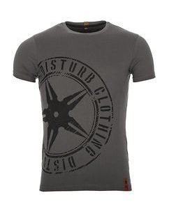 The Throwing Star Tee Grey