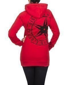 The Throwing Star Women Hoodie Red