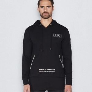 Things To Appreciate Doublelayer Hoddie Black