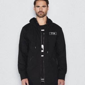 Things To Appreciate Doublezip Hoddie Black