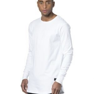 Things To Appreciate Long Line Sleeve White