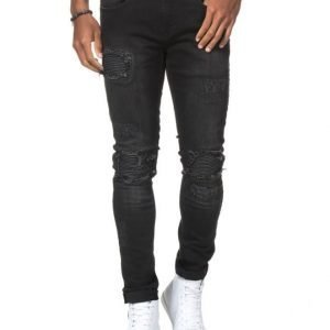 Things To Appreciate TTA Biker Jeans Black