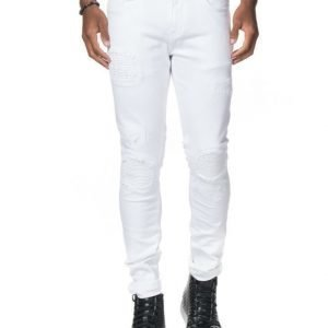 Things To Appreciate TTA Biker Jeans White