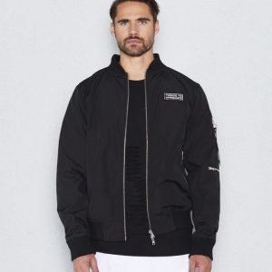 Things To Appreciate TTA Bomber Jacket Black
