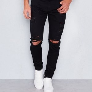 Things To Appreciate TTA Distressed Denim Black