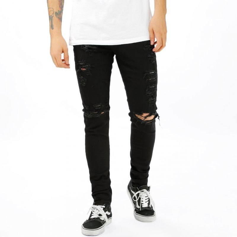 Things To Appreciate TTA Distressed Denim -farkut